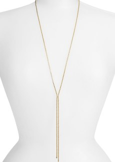 Nordstrom Ball Chain Y-Necklace