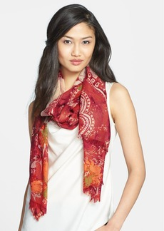 Nordstrom 'Baroque Floral' Wool Scarf
