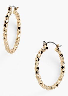 Nordstrom Bead Hoop Earrings