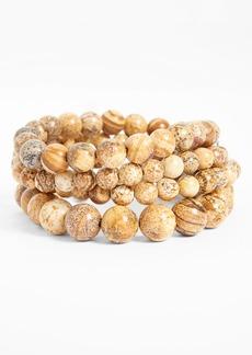 Nordstrom Bead Stretch Bracelets (Set of 4)