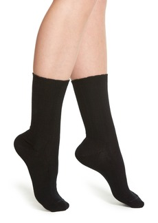 Nordstrom 'Betsy' Cable Knit Crew Socks