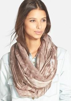 Nordstrom 'Blurred Cheetah' Wool Infinity Scarf