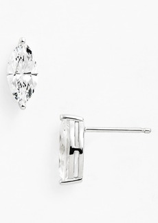 Nordstrom Boxed Marquise 2ct tw Cubic Zirconia Stud Earrings