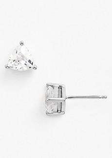 Nordstrom Boxed Trillion 2ct tw Cubic Zirconia Stud Earrings