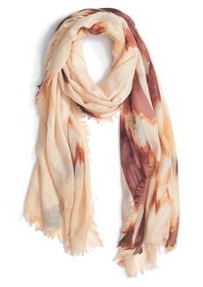 Nordstrom 'Cascading Eyelash' Cashmere Silk Blend Scarf