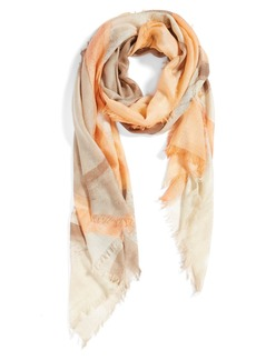 Nordstrom Circle Print Cashmere & Silk Scarf