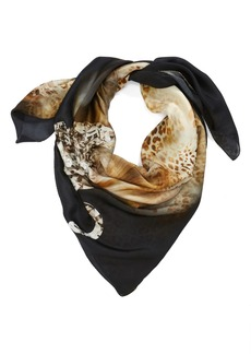 Nordstrom Collection 'Animal Jewel' Silk Scarf