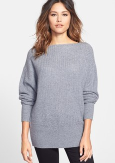 Nordstrom Collection Bateau Neck Cashmere Sweater