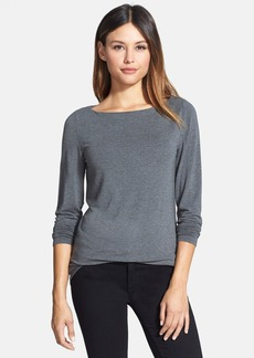 Nordstrom Collection Bateau Neck Modal Top
