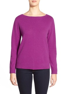Nordstrom Collection Boatneck Cashmere Sweater