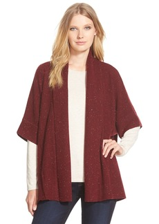 Nordstrom Collection Boxy Open Front CashmereCardigan