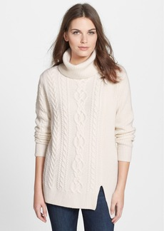 Nordstrom Collection Cashmere Cable Pullover