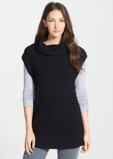 Nordstrom Collection Cashmere Cowl Neck Sleeveless Pullover