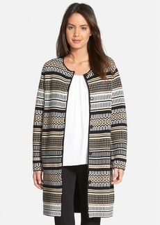 Nordstrom Collection Cashmere Long Double Knit Cardigan