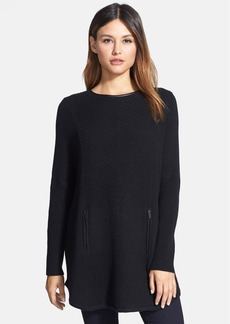 Nordstrom Collection Cashmere Poncho Sweater