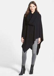 Nordstrom Collection Cashmere Poncho with Removable Cowl