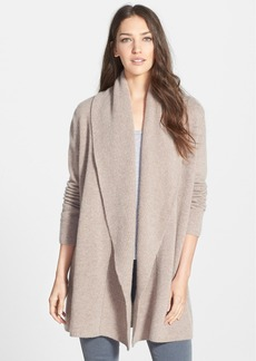 Nordstrom Collection Cashmere Shawl Collar Open Cardigan