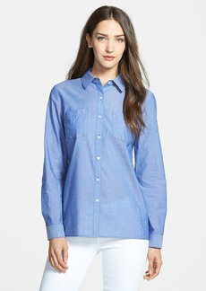 Nordstrom Collection Cotton Voile Shirt