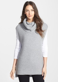 Nordstrom Collection Cowl Neck Sleeveless Cashmere Sweater