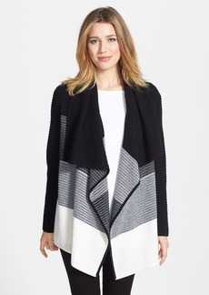 Nordstrom Collection Dégradé Cashmere Open Front Cardigan