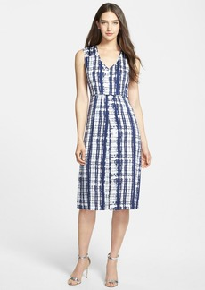 Nordstrom Collection 'Darlington' Print Silk Dress