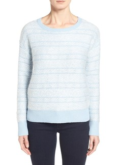 Nordstrom Collection Fair Isle Wool & Cashmere Crewneck Sweater