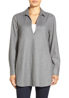 Nordstrom Collection Flannel Tunic