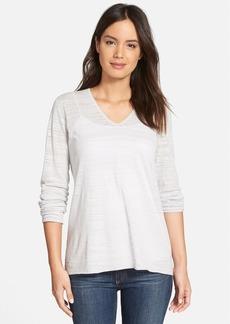 Nordstrom Collection 'Jude' Silk Blend V-Neck Pullover