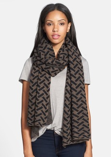 Nordstrom Collection 'Lattice' Cashmere Wrap