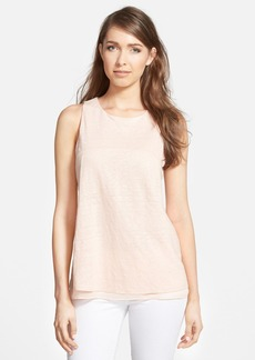 Nordstrom Collection Layered Linen Top