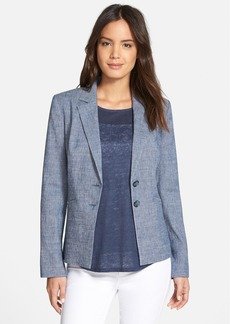 Nordstrom Collection Linen Blend Jacket