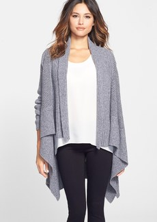 Nordstrom Collection Mixed Stitch Cashmere Blend Cardigan