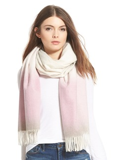 Nordstrom Collection Ombré Cashmere Wrap