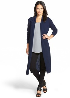 Nordstrom Collection Open Front Cashmere Duster Cardigan