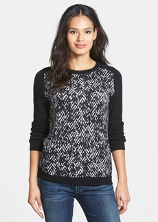 Nordstrom Collection Patterned Cashmere Sweater