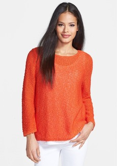 Nordstrom Collection 'Pergamena' Cotton Sweater