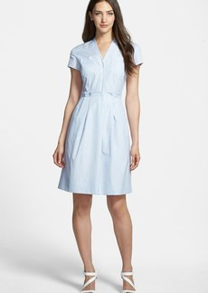 Nordstrom Collection Pinstripe Shirting Dress