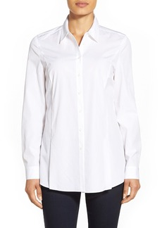 Nordstrom Collection Pleat Front Shirt