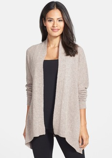 Nordstrom Collection Rib Knit Cashmere Cardigan