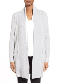 Nordstrom Collection Ribbed Wool & Cashmere Cardigan