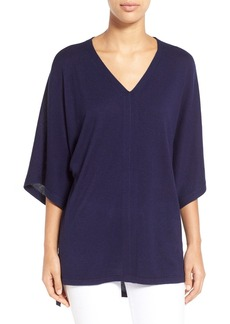 Nordstrom Collection Silk & Cashmere V-Neck Sweater