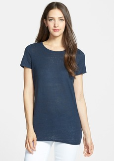 Nordstrom Collection Slub Linen Tee