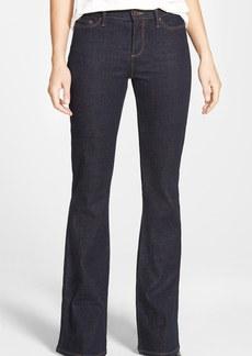 Nordstrom Collection Stretch Flare Leg Jeans (Dark Denim)