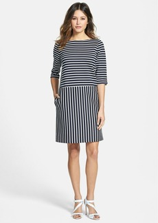 Nordstrom Collection Stripe Ponte Dress