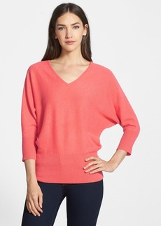 Nordstrom Collection V-Neck Cashmere Sweater