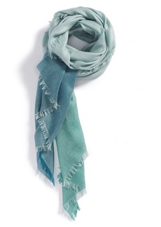 Nordstrom Colorblock Cashmere & Silk Scarf