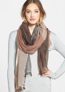 Nordstrom Colorblock Cashmere Scarf