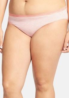Nordstrom Cotton Blend Bikini (Plus Size)