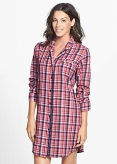 Nordstrom Cotton Twill Sleep Shirt
