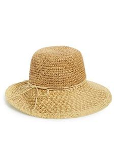 Nordstrom Crochet Floppy Straw Hat
